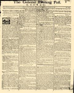 General Evening Post, June 22, 1771, Page 1