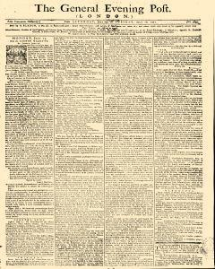 General Evening Post, July 13, 1771, Page 1
