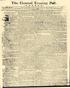 General Evening Post, August 06, 1771, Page 1