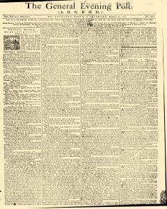 General Evening Post, August 08, 1771, Page 1