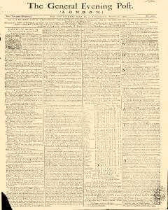 General Evening Post, August 17, 1771, Page 1