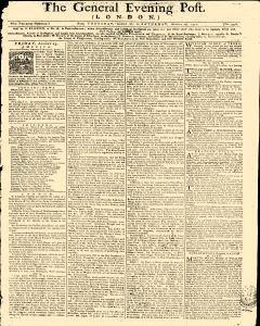General Evening Post, August 22, 1771, Page 1