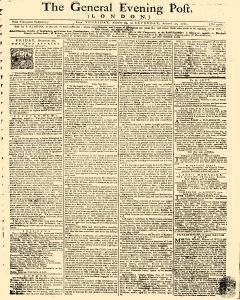 General Evening Post, August 29, 1771, Page 1