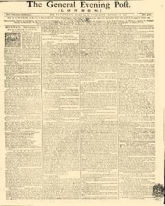 General Evening Post, August 31, 1771, Page 1
