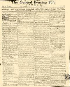 General Evening Post, September 10, 1771, Page 1