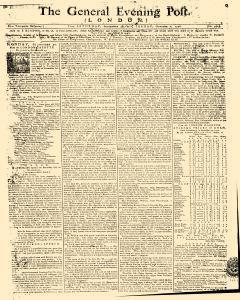 General Evening Post, September 28, 1771, Page 1