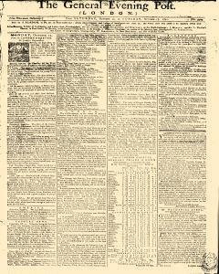 General Evening Post, October 12, 1771, Page 1