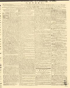 General Evening Post, October 19, 1771, Page 1