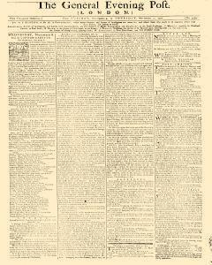 General Evening Post, November 05, 1771, Page 1