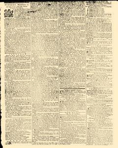 General Evening Post, November 09, 1771, Page 3