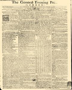 General Evening Post, November 19, 1771, Page 1