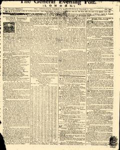 General Evening Post, December 05, 1771, Page 1