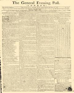 General Evening Post, December 10, 1771, Page 1