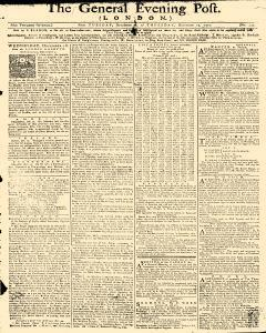 General Evening Post, December 17, 1771, Page 1