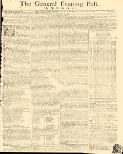 General Evening Post, December 24, 1771, Page 1