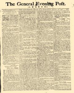 General Evening Post, January 09, 1790, Page 1