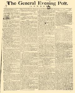 General Evening Post, February 09, 1790, Page 1