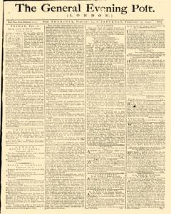 General Evening Post, February 11, 1790, Page 1