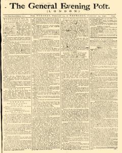 General Evening Post, February 23, 1790, Page 1
