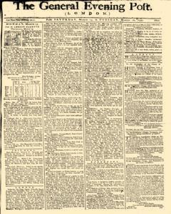 General Evening Post, March 13, 1790, Page 1