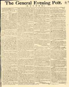 General Evening Post, March 25, 1790, Page 1