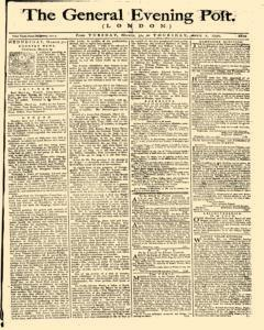 General Evening Post, March 30, 1790, Page 1