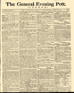 General Evening Post, April 06, 1790, Page 1