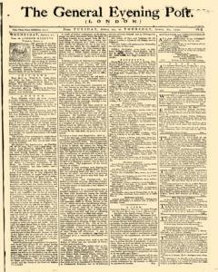 General Evening Post, April 20, 1790, Page 1