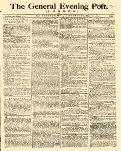 General Evening Post, May 04, 1790, Page 1