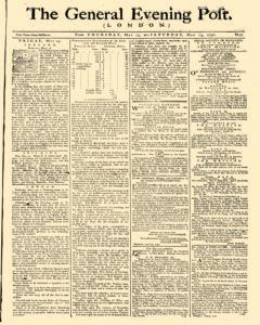 General Evening Post, May 13, 1790, Page 1