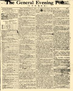 General Evening Post, May 15, 1790, Page 1