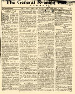 General Evening Post, May 20, 1790, Page 1