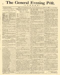 General Evening Post, May 29, 1790, Page 1