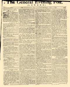 General Evening Post, June 01, 1790, Page 1
