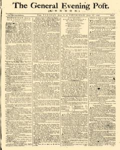 General Evening Post, June 08, 1790, Page 1