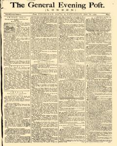 General Evening Post, June 10, 1790, Page 1