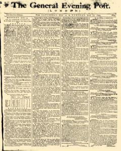 General Evening Post, June 12, 1790, Page 1