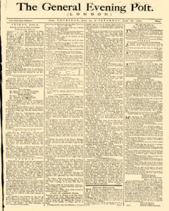 General Evening Post, June 24, 1790, Page 1