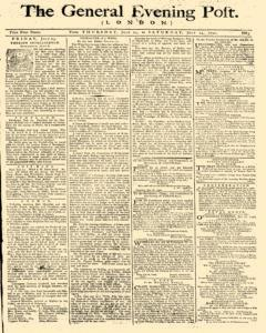 General Evening Post, July 22, 1790, Page 1