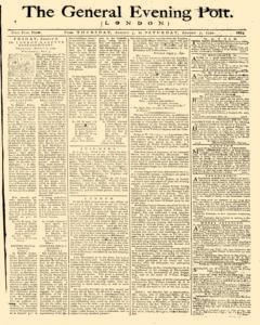 General Evening Post, August 05, 1790, Page 1