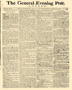 General Evening Post, August 12, 1790, Page 1