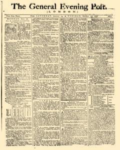 General Evening Post, August 14, 1790, Page 1