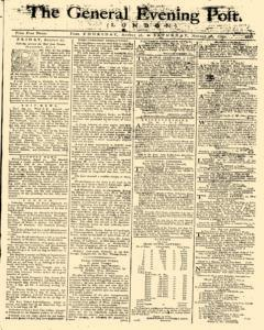 General Evening Post, August 26, 1790, Page 1