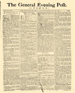 General Evening Post, September 11, 1790, Page 1