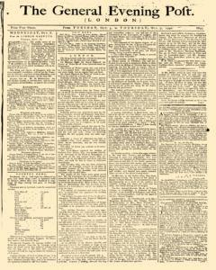 General Evening Post, October 05, 1790, Page 1