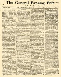 General Evening Post, October 14, 1790, Page 1