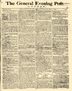 General Evening Post, November 02, 1790, Page 1