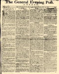 General Evening Post, November 11, 1790, Page 1