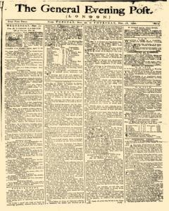 General Evening Post, November 16, 1790, Page 1