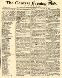 General Evening Post, November 23, 1790, Page 1